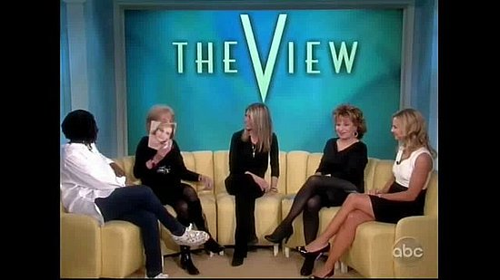 Video of Jennifer Aniston on The View February 2011