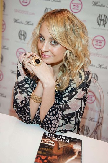 Pictures of Nicole Richie at a Singer 22 Party in NYC