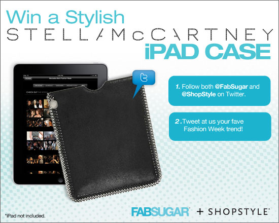FabSugar and ShopStyle Stella McCartney iPad Case Giveaway