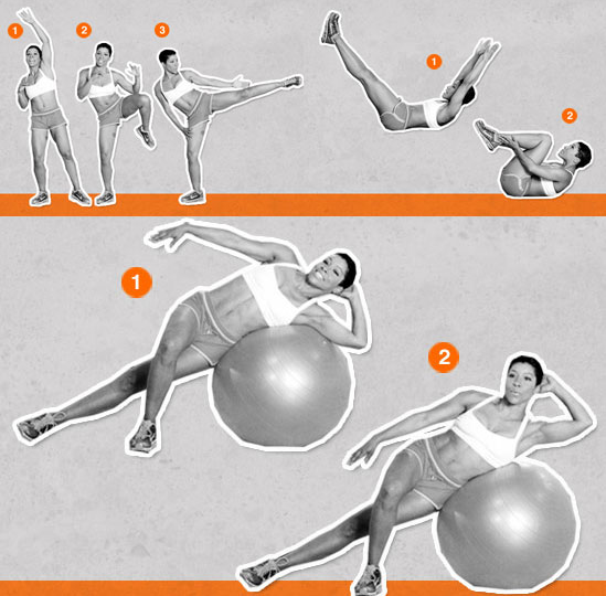 Sugar Shout Out: Blast Away Belly Fat With Calorie-Burning Circuit Training!