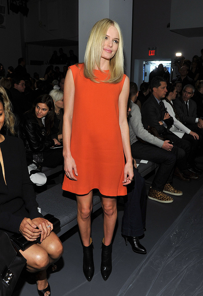 Kate Bosworth Heads East in Time to Wrap Up Fashion Week at Calvin Klein