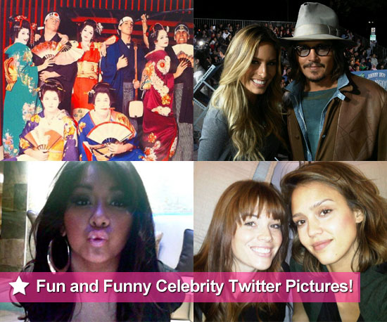 Fun Celebrity Twitter Pictures From Taylor Swift, Jessica Alba, Snooki, Renee Bargh and More