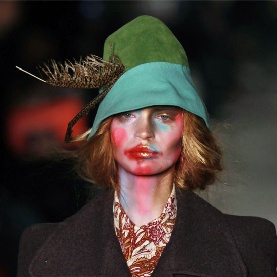 Pictures at Vivienne Westwood 2011 Fall London Fashion Week