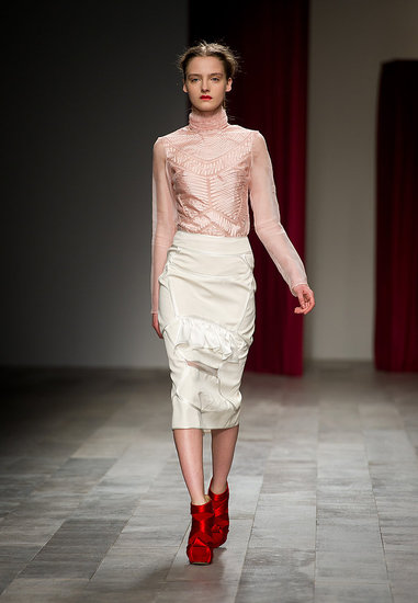 Fall 2011 London Fashion Week: Emilio de la Morena