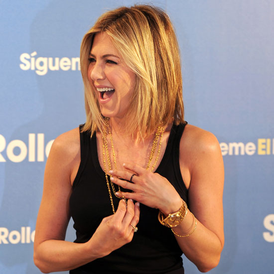 Pictures of Jennifer Aniston's New Haircut in Madrid 2011-02-22 06:44 ...