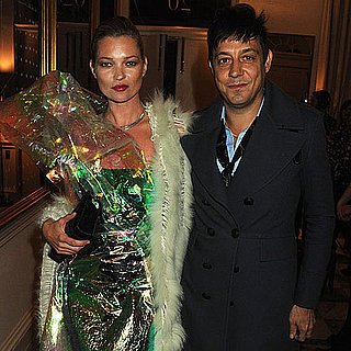Pictures of Kate Moss and Jamie Hince at Another Magazine Party at London Fashion Week