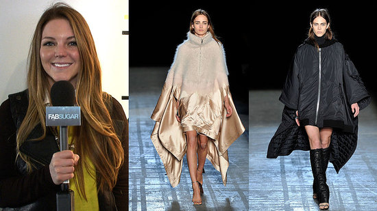 Fall 2011 Fashion: Ponchos!