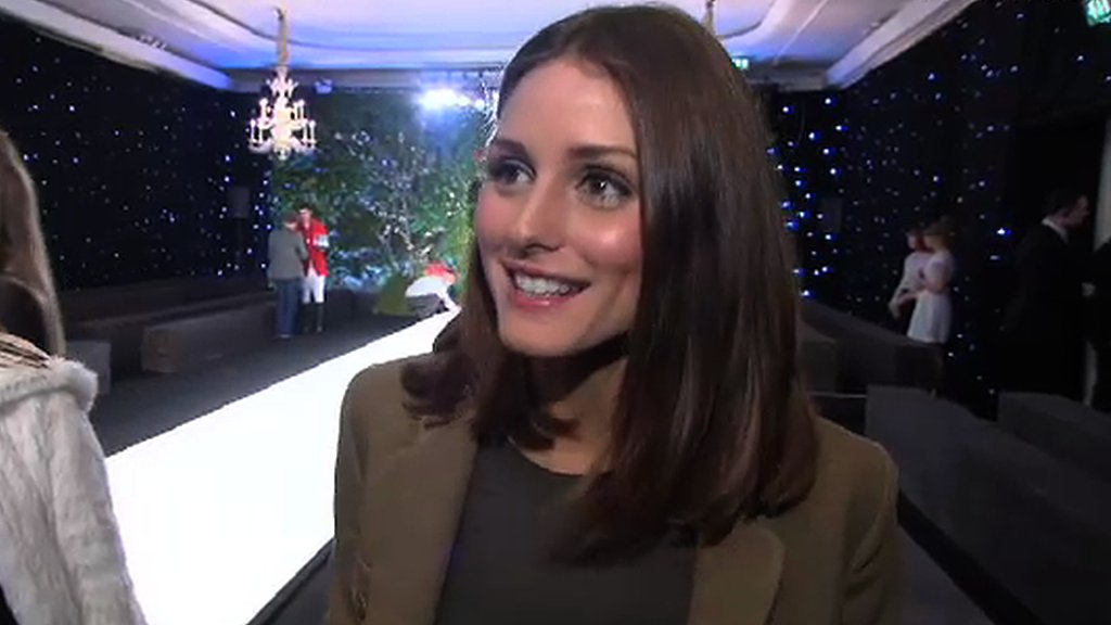 Olivia Palermo Interview at London Fashion Week Autumn/Winter 2011