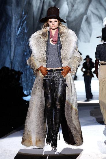 Fall 2011 Milan Fashion Week: Dsquared2