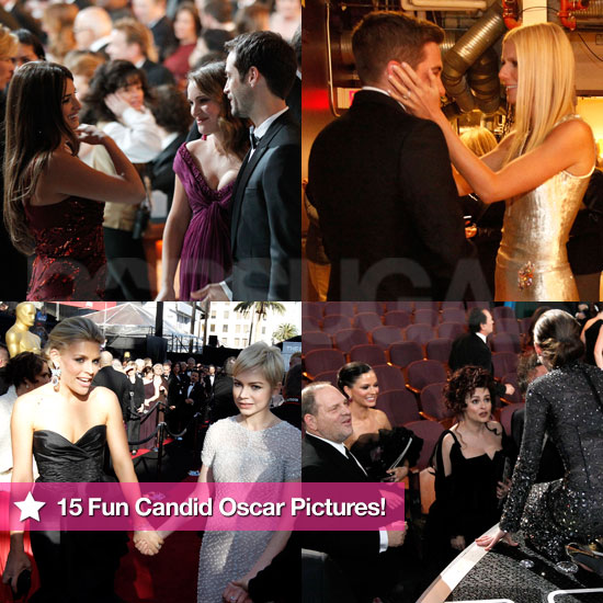 Oscar Pictures Behind the Scenes