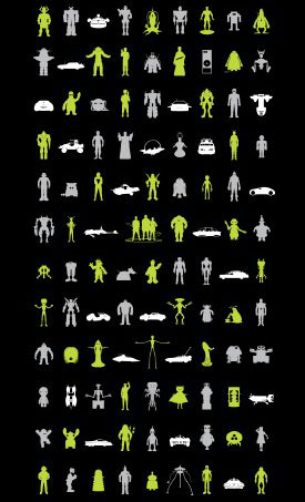 149 Icons Screened Poster ($48)