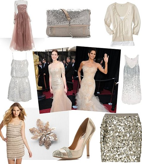 Shopping the Oscars' Red Carpet Trends: Subtle Sparkle