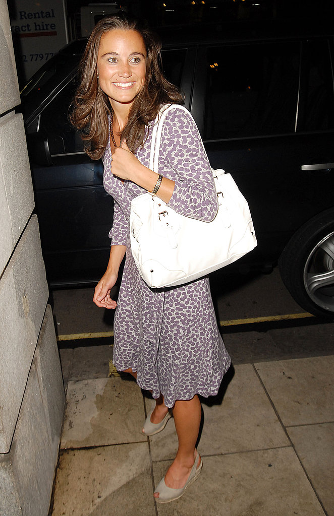 Leaving the Mahiki club in London in 2007.