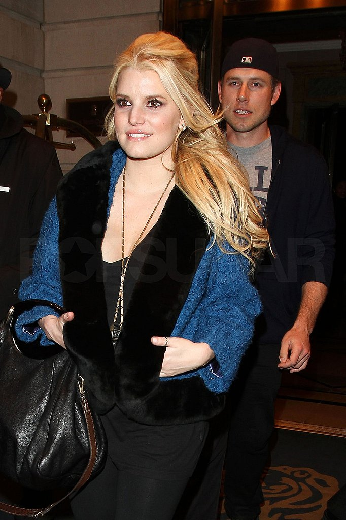 Jessica Simpson and Eric Johnson Take Their Love Tour to England