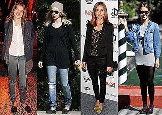 Pictures of Jessica Alba, Olivia Palermo, Nicole Richie Wearing the Loafer Trend