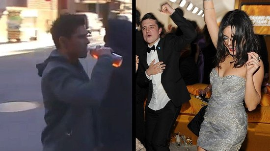 Video: Zac Efron on the Set of New Year's Eve and Vanessa Hudgens With Josh Hutcherson
