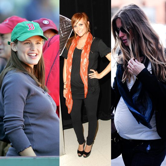 Cool and Casual | How to Dress the Pregnant Body: A Celebrity Guide to ... Hilary Duff