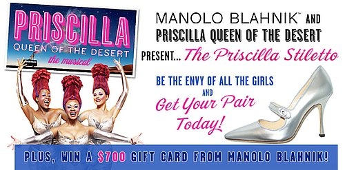 Manolo Blahnik $700 gift card giveaway