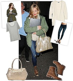 Pictures of Sienna Miller London Street Style