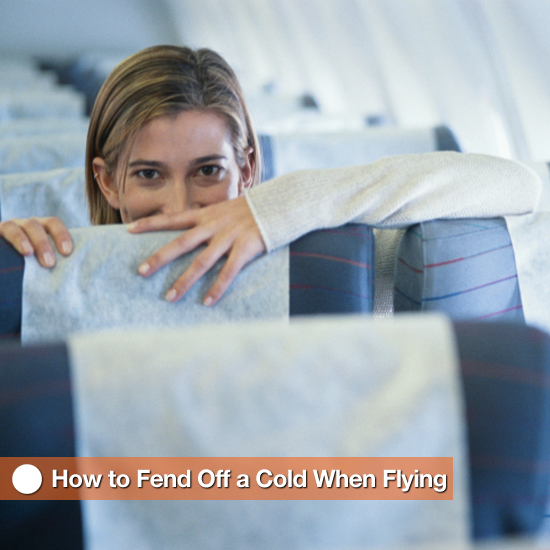 How to Prevent Getting a Cold When Flying
