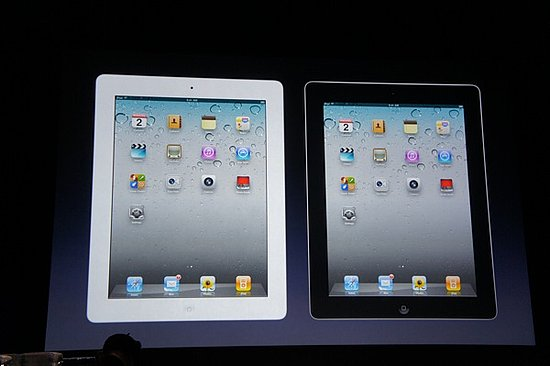 Improved Specs in the iPad 2