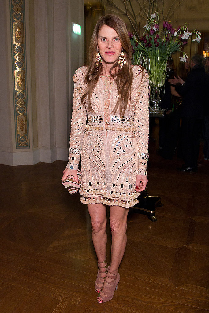 Wearing THAT Emilio Pucci dress.