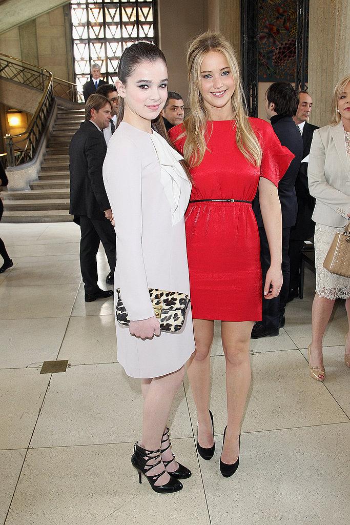 Hailee Steinfeld and Jennifer Lawrence