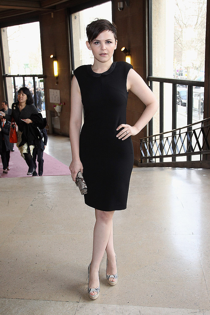 Ginnifer Goodwin at Miu Miu.
