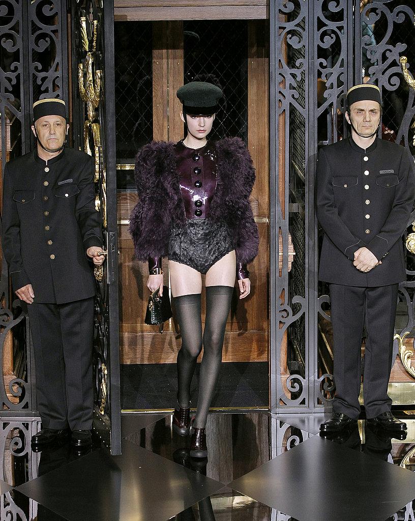 2011 Fall Paris Fashion Week: Louis Vuitton