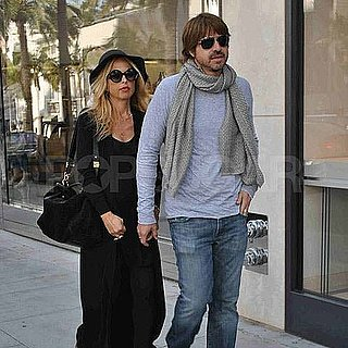 Pictures of Pregnant Rachel Zoe and Rodger Berman in LA
