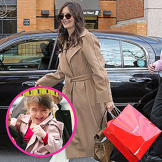 Pictures of Katie Holmes and Suri Cruise in NYC
