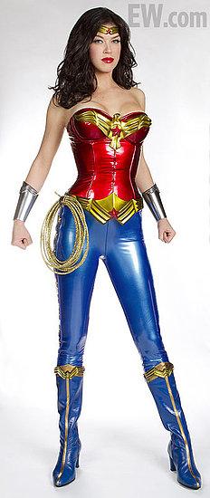 First Peek at Adrianne Palicki as TV's Wonder Woman!