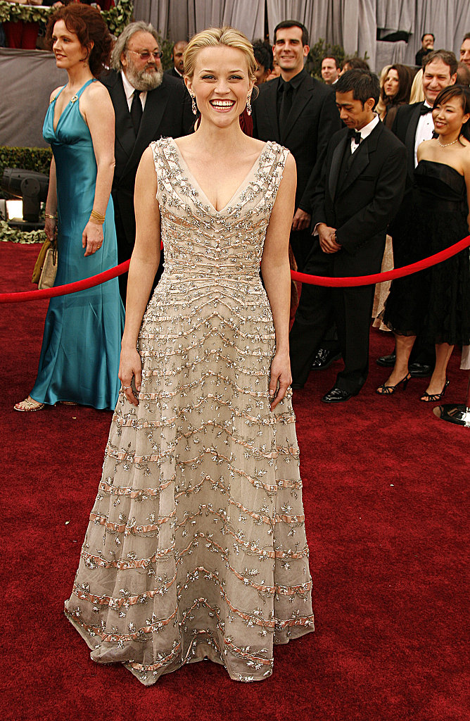 Reese Witherspoon in Christian Dior at 2006 Oscars