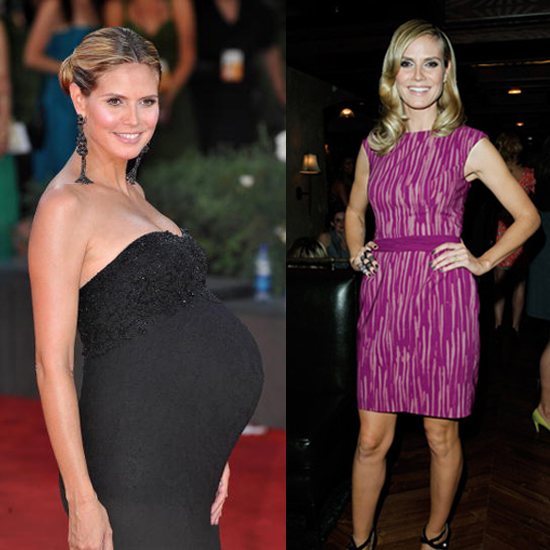 ... It Takes For Celebrities to Lose Their Baby Weight | POPSUGAR Fitness