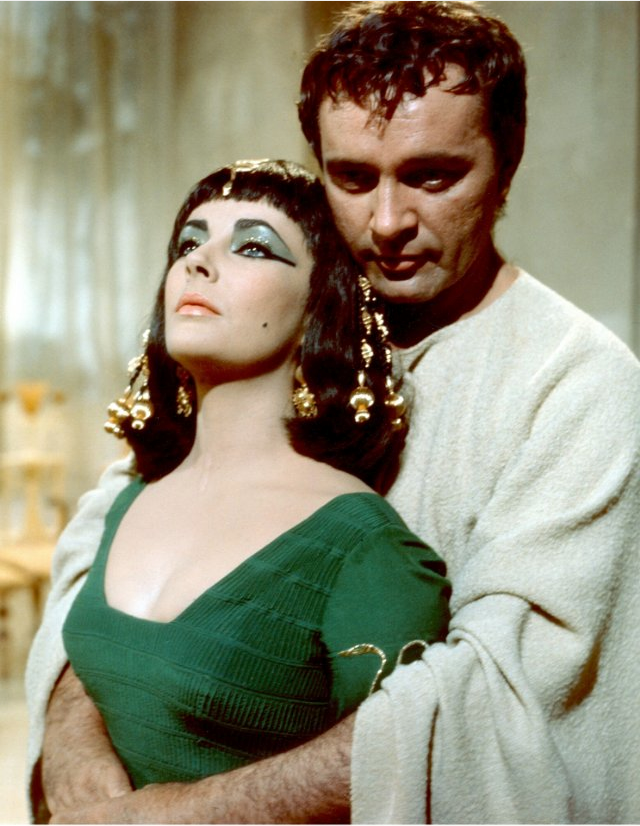 Filming Cleopatra in 1963