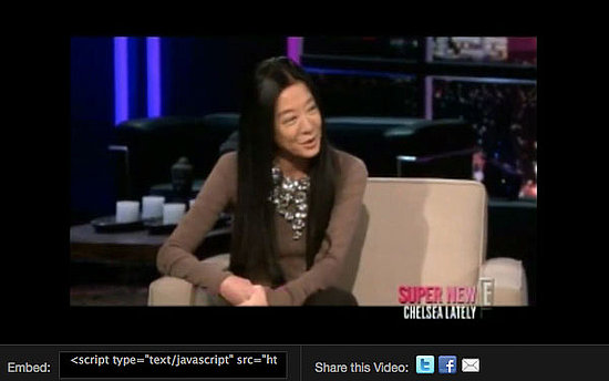 Vera Wang Talks to Chelsea Handler About Starting Her Career