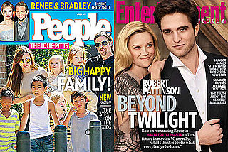 Which Magazine Will You Pick Up This Weekend —EW's Rob and Reese or People's Jolie-Pitts?