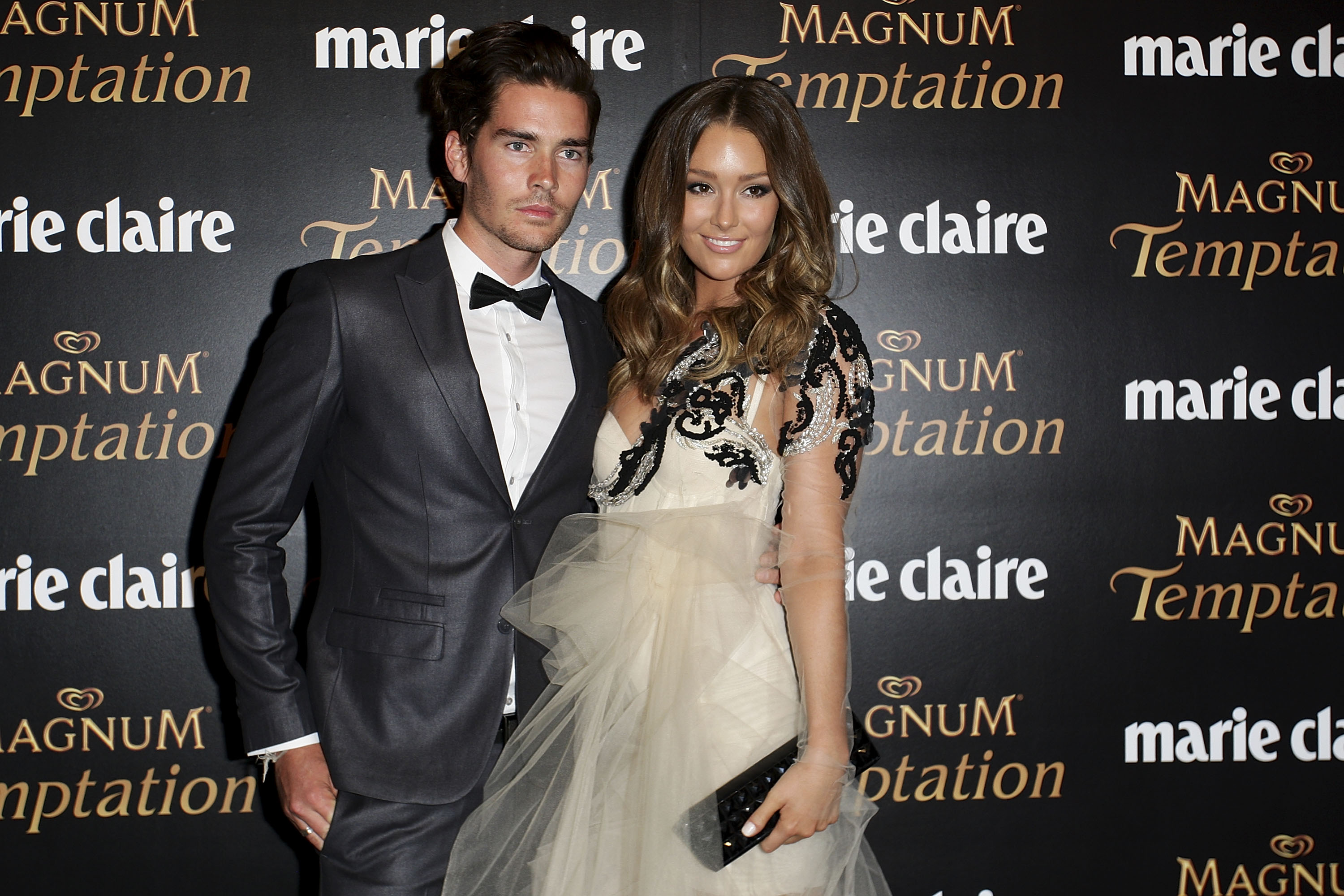 Nathan Joliffe and Erin McNaught