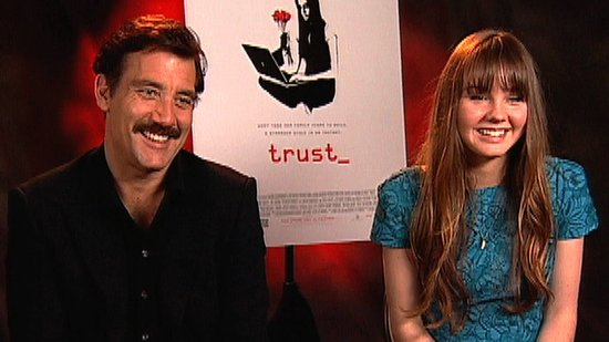 Video: Clive Owen and Liana Liberato Talk Trust, Playing Father and Daughter, and Working With Nicole Kidman