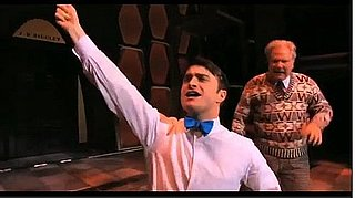 Daniel Radcliffe Singing and Dancing on Broadway