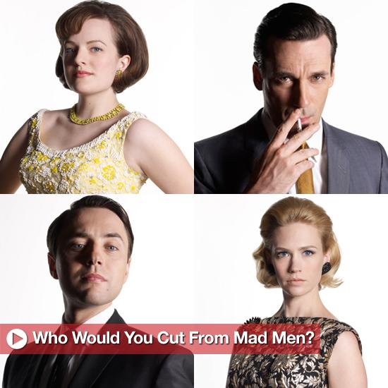 Mad Men Season 5 May Cut Two Characters