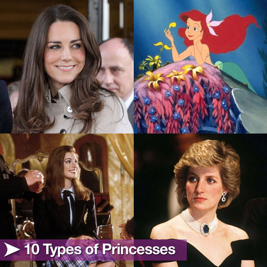 Sugar Shout Out: What We Can Learn From the Different Types of Princesses