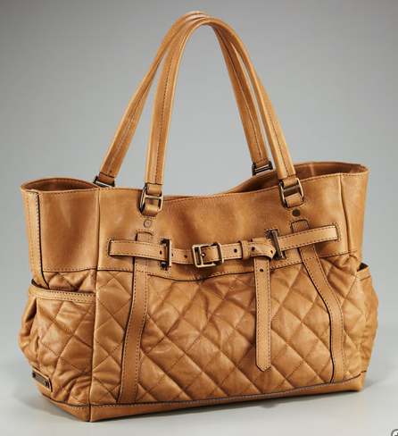 Burberry Quilted Diaper Bag