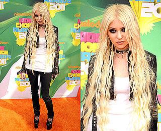 Taylor Momsen at the Kids' Choice Awards 2011