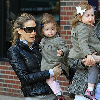 Pictures of Sarah Jessica Parker Out With Tabitha Broderick and Marion Broderick in NYC