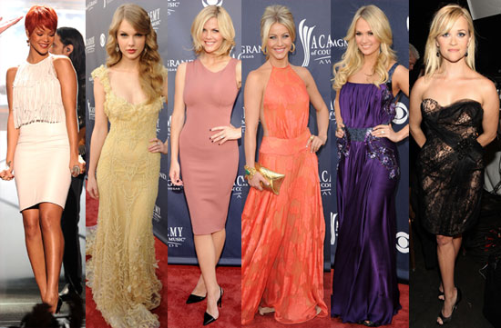 Pictures of Academy of Country Music Awards Red Carpet: Who Deserves Best Dressed?