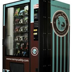 Nanny Caddy Baby Goods Vending Machines