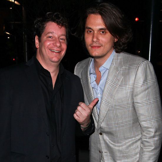 Pictures of John Mayer and Jeffrey Ross Leaving the Roosevelt in LA