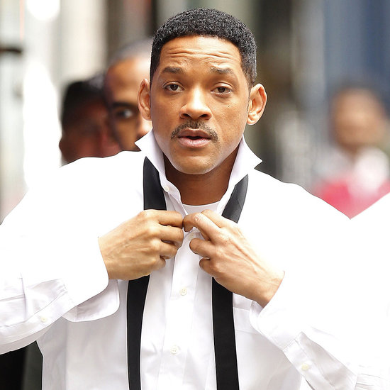 Pictures of Will Smith on the Set of Men in Black 3 in NYC