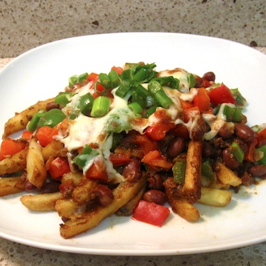 How to Make Healthy Chili Cheese Fries